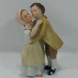 Hand Painted Lenwile Ardalt japan Dance Hug Kiss